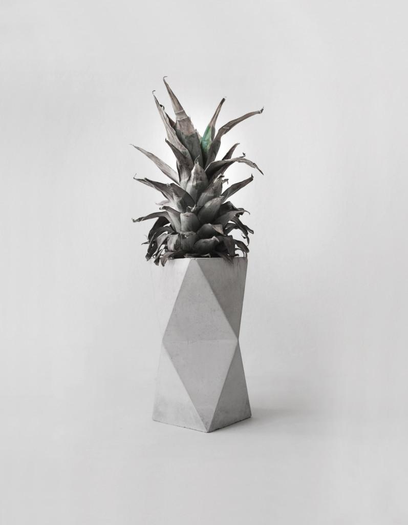 Geometrical Concrete Minimalist Vase