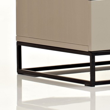 Argo Furniture Night Stand End Table Storage Cabinet Detail