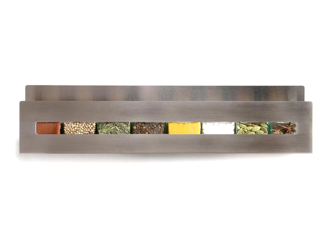 """""""Aperture"""" Stainless Steel Spice Shelf by Desu Design"""