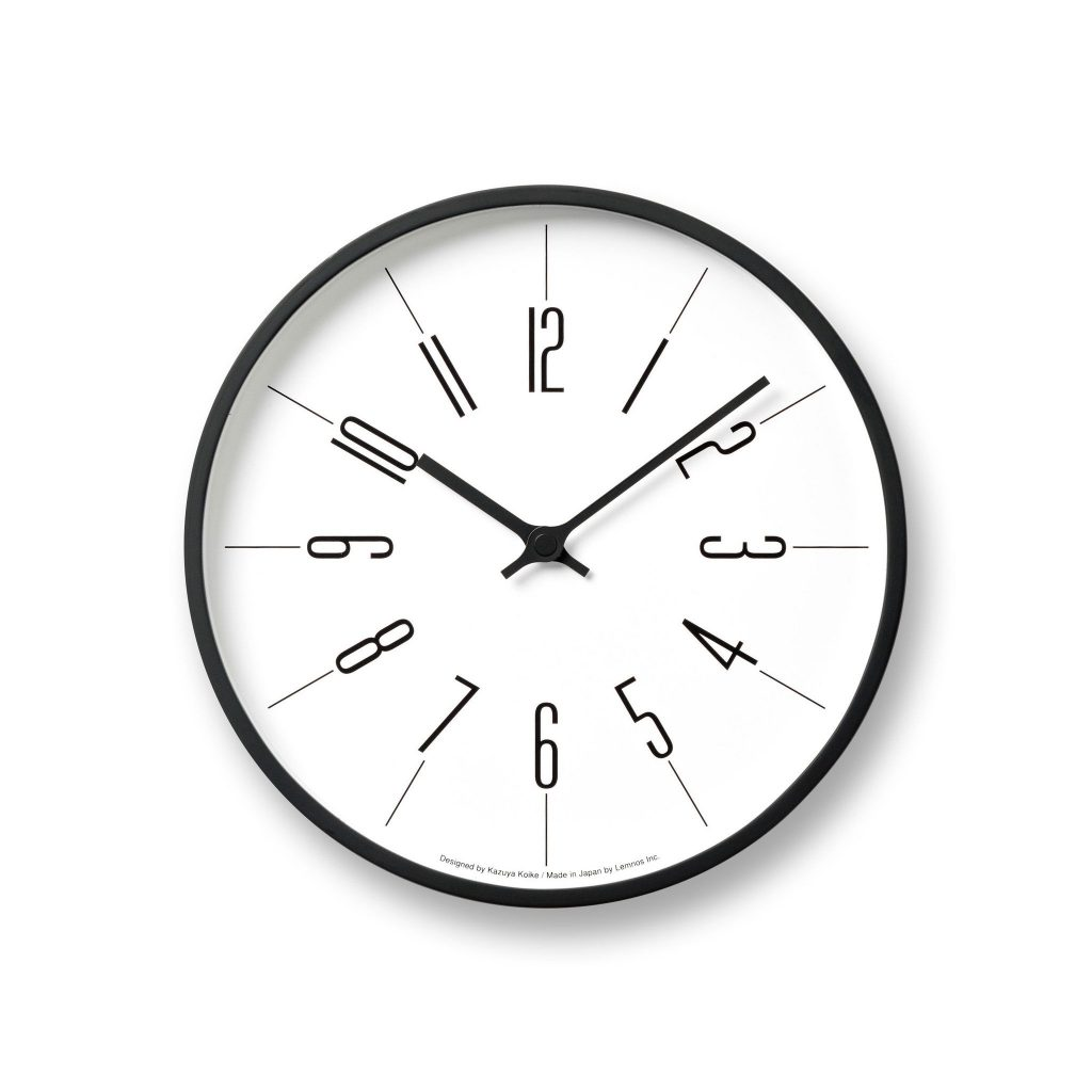 "Arabic ""Tower"" Wall Clock by lemnos"