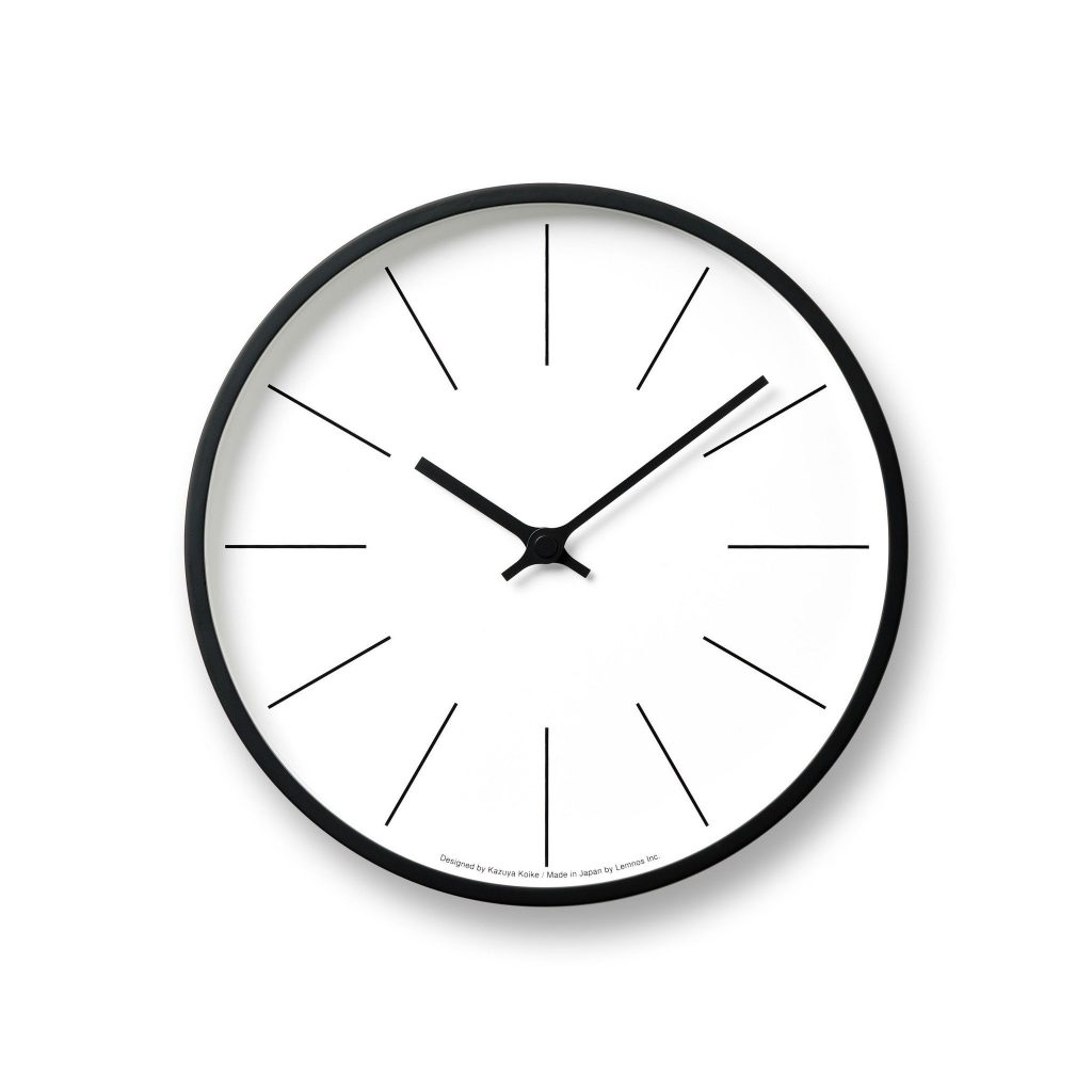 "Numberless ""Tower"" Wall Clock by lemnos"