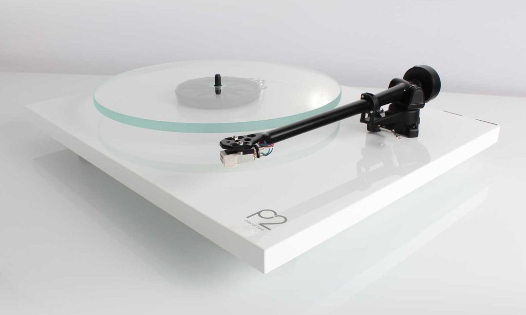 REGA Planar 2 Modern Minimalist Record Players, Ultra Simple