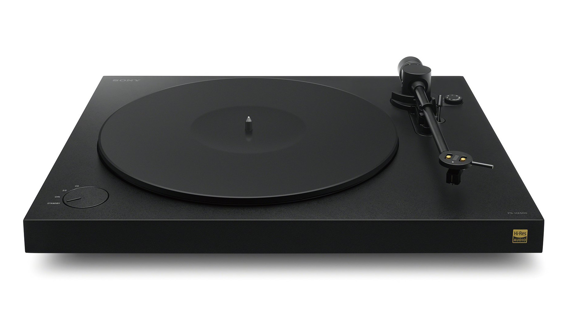 Sony's modern record player, the PS-HX500, Sleek Minimalist Style