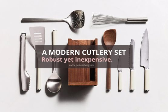 An Inexpensive Modern Kitchen Knife Set, Cutlery by Material