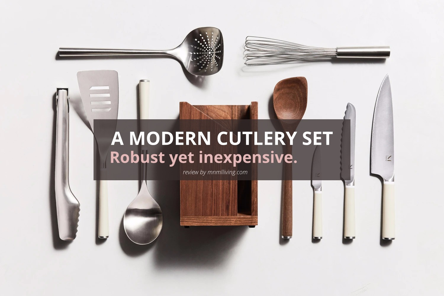Modern Kitchen Knife Set, Professional Cutlery by Material