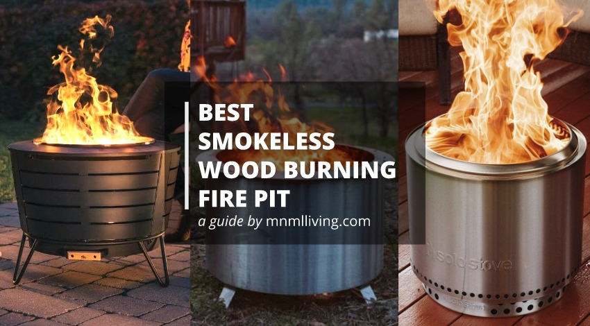 Best smokeless wood fire pit (Burn any log!)